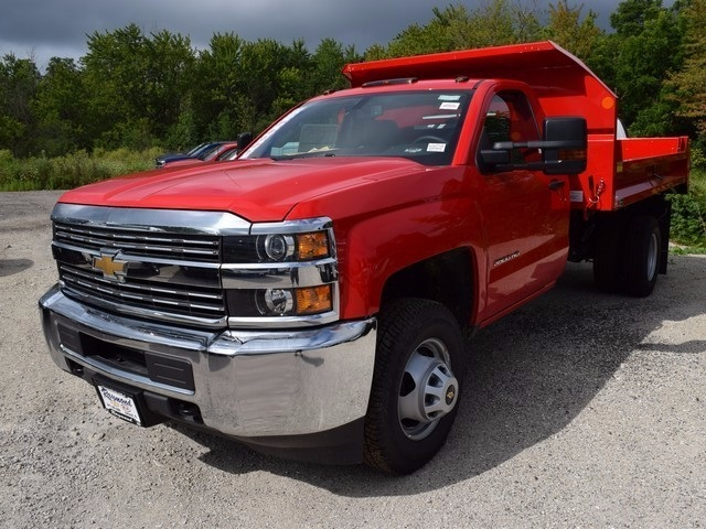 2017 Silverado 3500 Regular Cab 4x4 Dump Body #38615 - photo 9