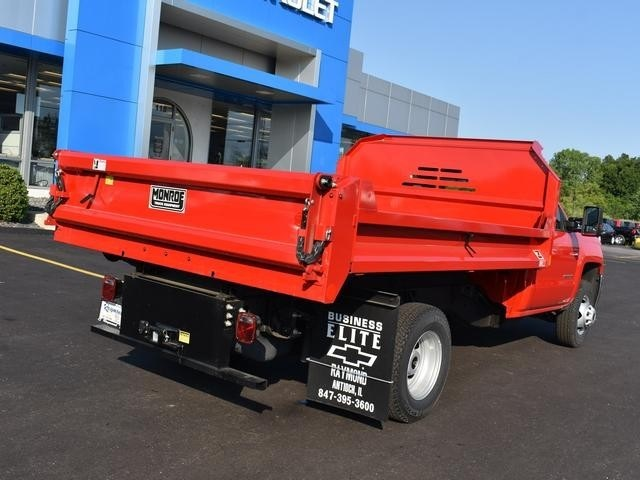 2017 Silverado 3500 Regular Cab DRW 4x4,  Monroe MTE-Zee Dump Body #38615 - photo 2
