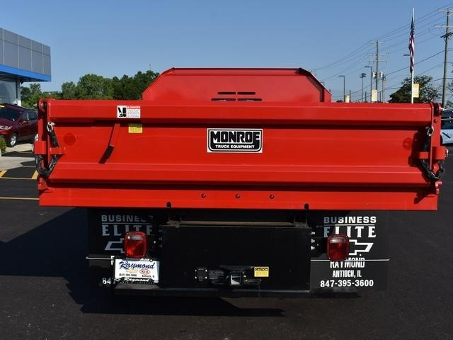 2017 Silverado 3500 Regular Cab DRW 4x4,  Monroe MTE-Zee Dump Body #38615 - photo 4