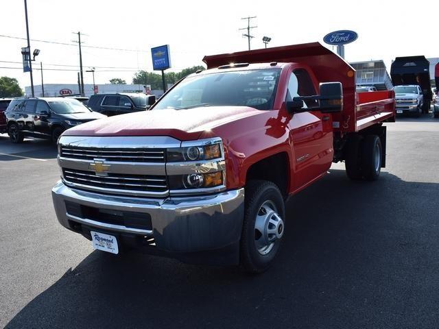 2017 Silverado 3500 Regular Cab DRW 4x4,  Monroe Dump Body #38615 - photo 7