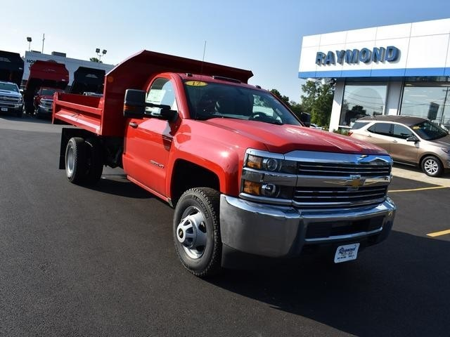 2017 Silverado 3500 Regular Cab DRW 4x4,  Monroe Dump Body #38615 - photo 9