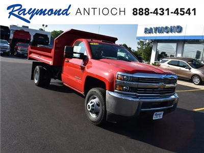 2017 Silverado 3500 Regular Cab DRW 4x4,  Monroe MTE-Zee Dump Body #38615 - photo 1
