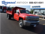 2017 Silverado 3500 Regular Cab DRW 4x4,  Monroe Dump Body #38615 - photo 1