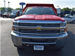 2017 Silverado 3500 Regular Cab DRW 4x4,  Monroe MTE-Zee Dump Body #38615 - photo 8