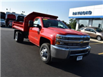 2017 Silverado 3500 Regular Cab DRW 4x4,  Monroe MTE-Zee Dump Body #38615 - photo 9