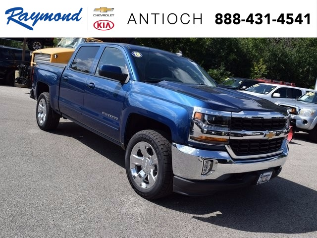 2018 Silverado 1500 Crew Cab 4x4 Pickup #38616 - photo 1