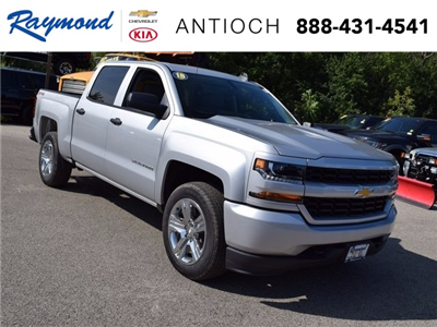 2018 Silverado 1500 Crew Cab 4x4 Pickup #38697 - photo 1
