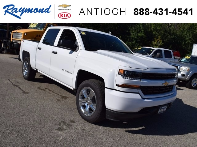 2018 Silverado 1500 Crew Cab 4x4, Pickup #38703 - photo 1