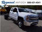 2017 Silverado 3500 Double Cab 4x4 Cab Chassis #38921 - photo 1