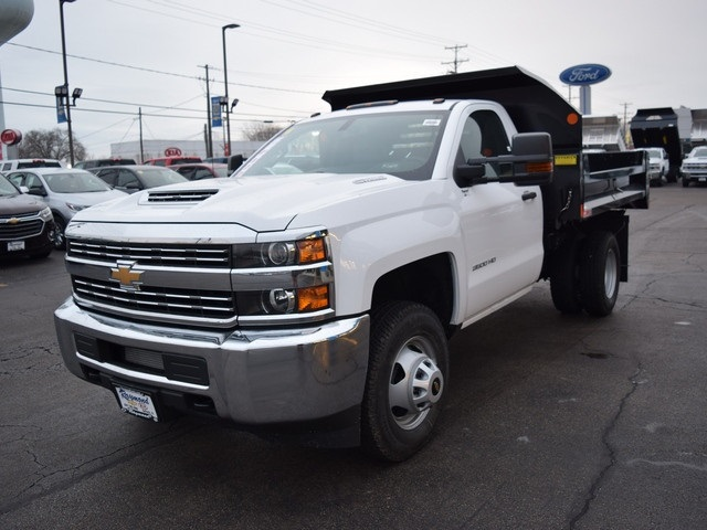 2018 Silverado 3500 Regular Cab DRW 4x4 Dump Body #39107 - photo 7