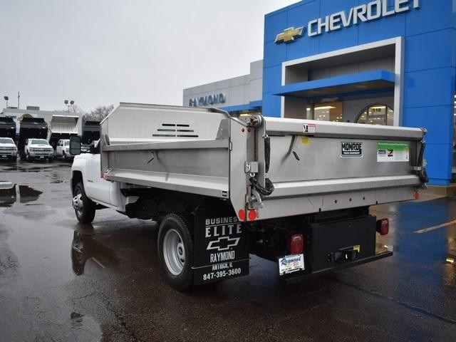 2018 Silverado 3500 Regular Cab DRW 4x4,  Monroe Dump Body #39300 - photo 5