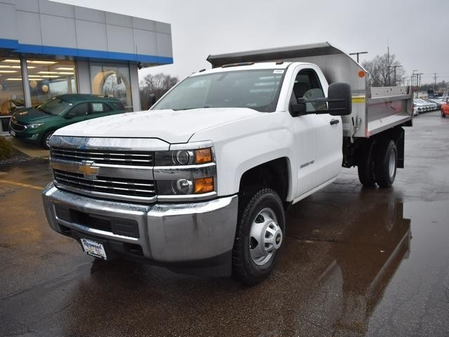 2018 Silverado 3500 Regular Cab DRW 4x4,  Monroe Dump Body #39300 - photo 7