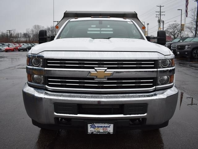 2018 Silverado 3500 Regular Cab DRW 4x4,  Monroe Dump Body #39300 - photo 8