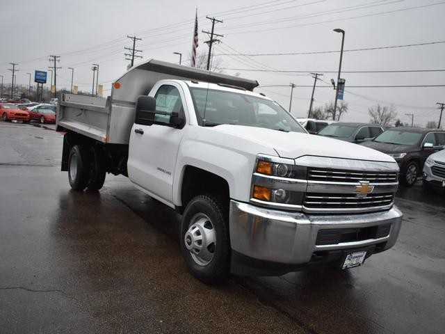 2018 Silverado 3500 Regular Cab DRW 4x4,  Monroe Dump Body #39300 - photo 9
