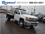 2018 Silverado 3500 Regular Cab DRW 4x4,  Monroe Dump Body #39300 - photo 1