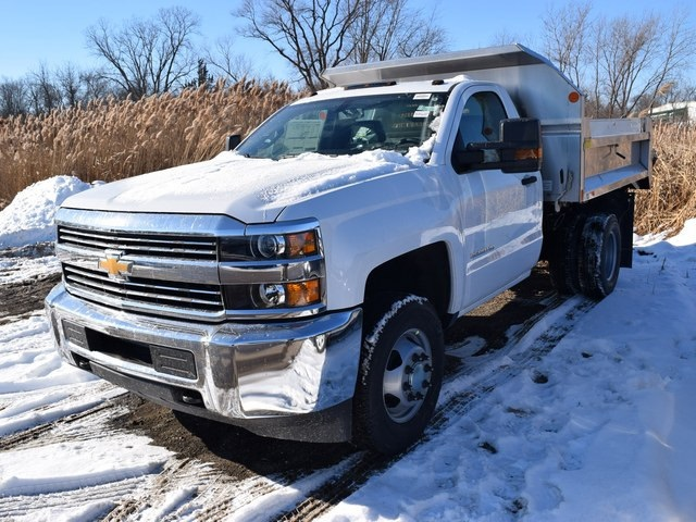 2018 Silverado 3500 Regular Cab DRW 4x4 Dump Body #39301 - photo 7