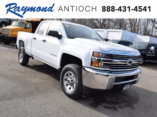 2018 Silverado 2500 Double Cab 4x4, Pickup #39307 - photo 1