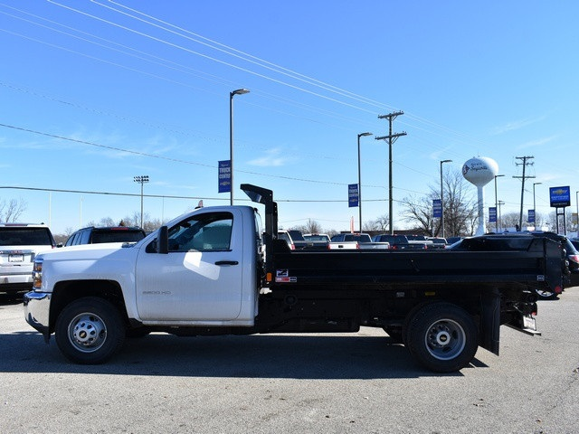 2018 Silverado 3500 Regular Cab DRW 4x4, Monroe MTE-Zee Dump Dump Body #39340 - photo 7