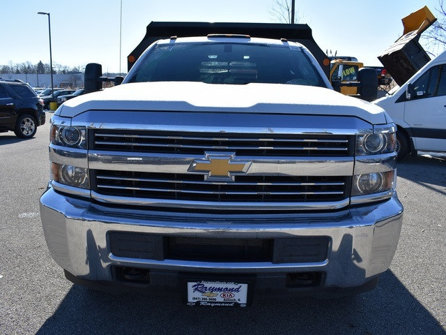 2018 Silverado 3500 Regular Cab DRW 4x4, Monroe MTE-Zee Dump Dump Body #39340 - photo 9