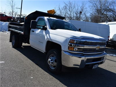 2018 Silverado 3500 Regular Cab DRW 4x4, Monroe MTE-Zee Dump Dump Body #39340 - photo 10