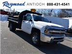 2018 Silverado 3500 Regular Cab DRW 4x4, Monroe MTE-Zee Dump Dump Body #39340 - photo 1