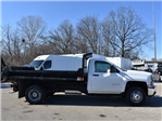 2018 Silverado 3500 Regular Cab DRW 4x4, Monroe MTE-Zee Dump Dump Body #39340 - photo 3