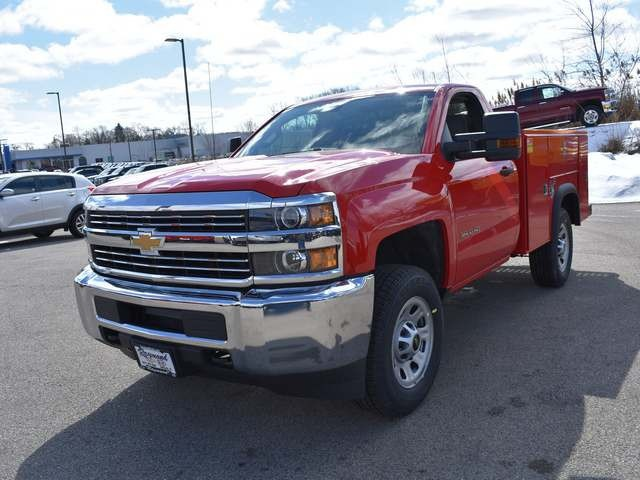 2018 Silverado 3500 Regular Cab, Service Body #39459 - photo 7