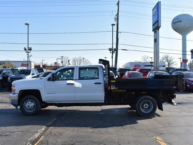 2018 Silverado 3500 Crew Cab DRW 4x4,  Monroe Dump Body #39503 - photo 6