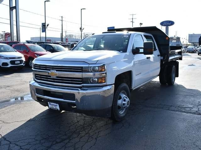 2018 Silverado 3500 Crew Cab DRW 4x4,  Monroe Dump Body #39503 - photo 7
