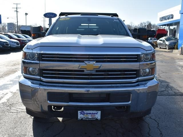 2018 Silverado 3500 Crew Cab DRW 4x4,  Monroe Dump Body #39503 - photo 8