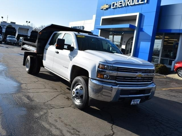 2018 Silverado 3500 Crew Cab DRW 4x4,  Monroe Dump Body #39503 - photo 9