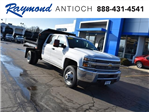 2018 Silverado 3500 Crew Cab DRW 4x4,  Monroe Dump Body #39503 - photo 1