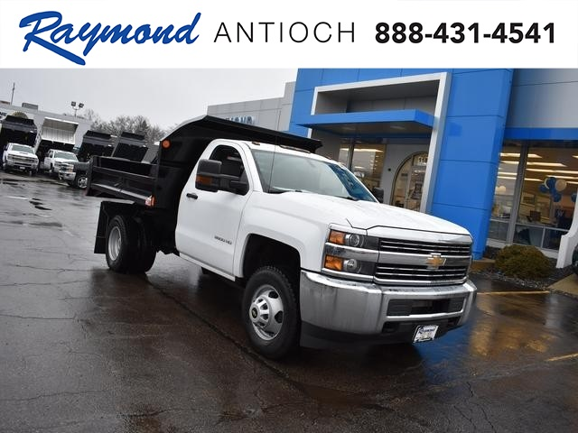 2017 Silverado 3500 Regular Cab DRW 4x4, Dump Body #39550 - photo 1