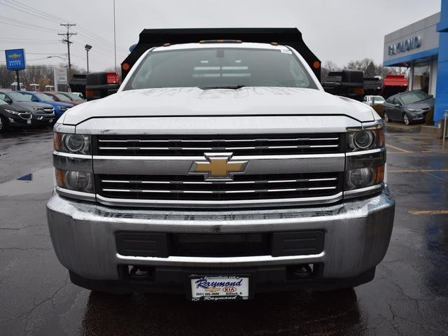 2017 Silverado 3500 Regular Cab DRW 4x4, Dump Body #39550 - photo 10