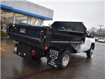 2017 Silverado 3500 Regular Cab DRW 4x4, Dump Body #39550 - photo 2