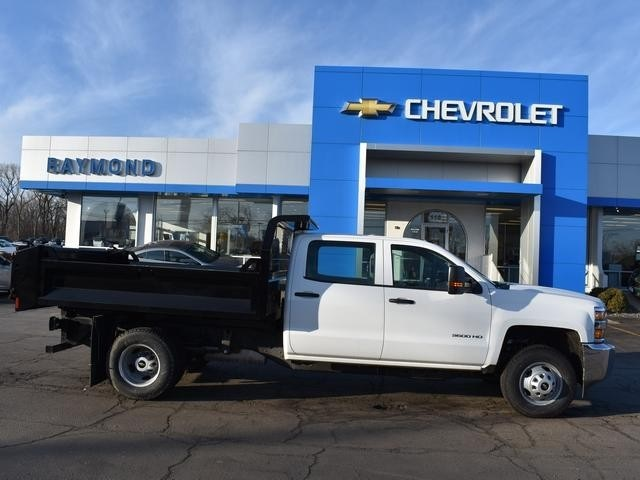 2017 Silverado 3500 Crew Cab DRW, Dump Body #39594 - photo 3