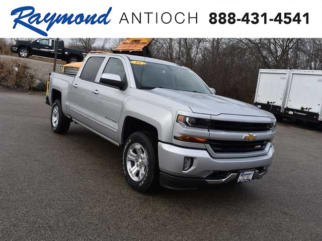 2018 Silverado 1500 Crew Cab 4x4, Pickup #39702 - photo 1