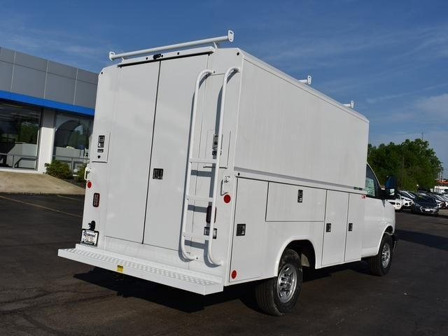 2018 Express 3500 4x2,  Service Utility Van #39834 - photo 2