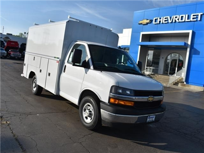 2018 Express 3500 4x2,  Service Utility Van #39834 - photo 10