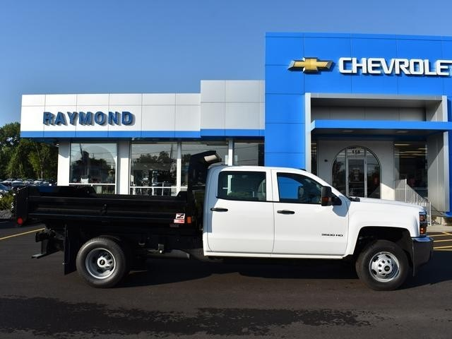 2018 Silverado 3500 Crew Cab DRW 4x4,  Dump Body #40133 - photo 3