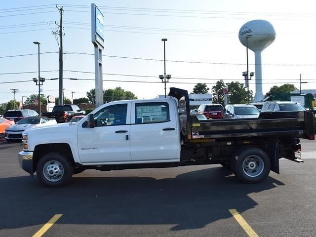 2018 Silverado 3500 Crew Cab DRW 4x4,  Dump Body #40133 - photo 6