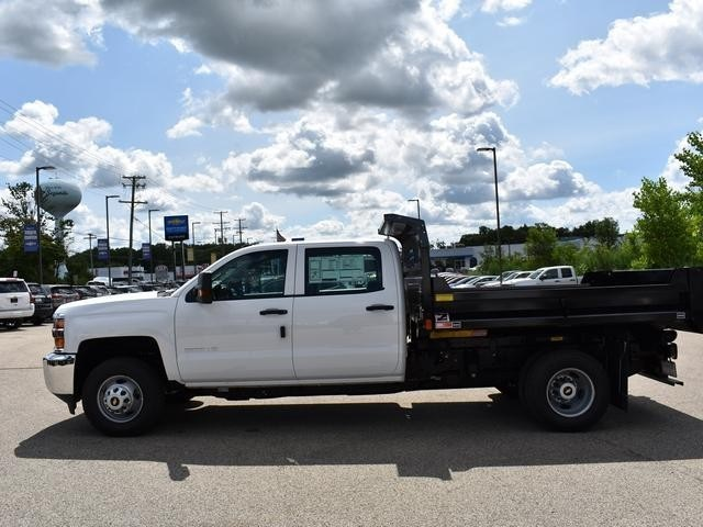 2018 Silverado 3500 Crew Cab DRW 4x2,  Dump Body #40165 - photo 6