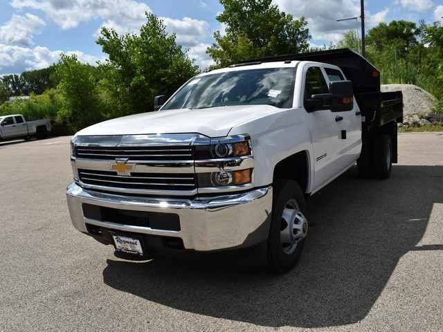 2018 Silverado 3500 Crew Cab DRW 4x2,  Dump Body #40165 - photo 7