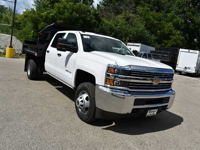 2018 Silverado 3500 Crew Cab DRW 4x2,  Dump Body #40165 - photo 9