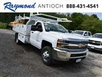 2018 Silverado 3500 Regular Cab DRW 4x4,  Knapheide Contractor Body #40166 - photo 1