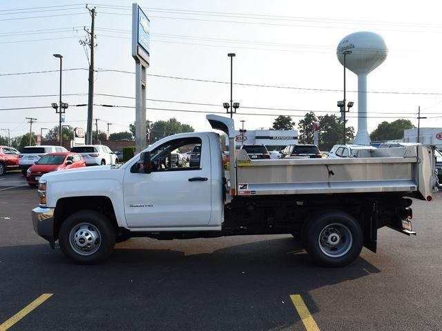 2019 Silverado 3500 Regular Cab DRW 4x4,  Dump Body #40298 - photo 6