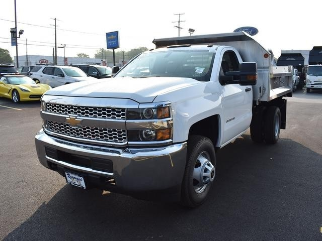 2019 Silverado 3500 Regular Cab DRW 4x4,  Dump Body #40298 - photo 7