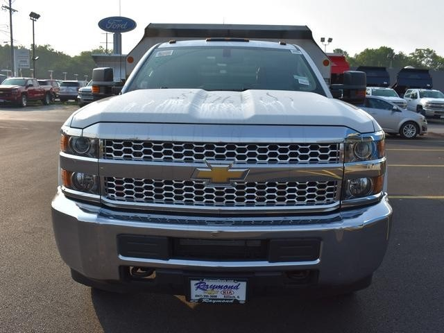 2019 Silverado 3500 Regular Cab DRW 4x4,  Dump Body #40298 - photo 8