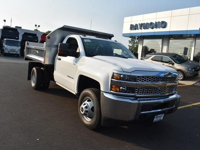 2019 Silverado 3500 Regular Cab DRW 4x4,  Dump Body #40298 - photo 9