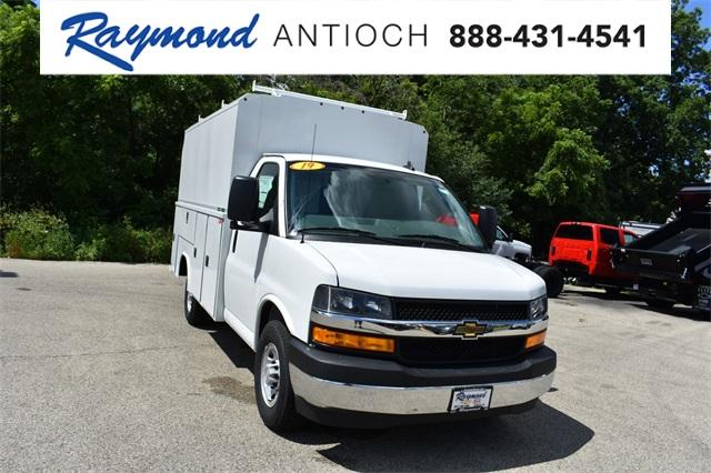 2019 Express 3500 4x2, Reading Aluminum CSV Service Utility Van (Stock  #40878)
